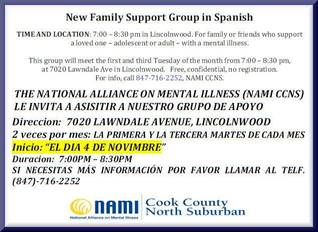 Family Support Group in Spanish