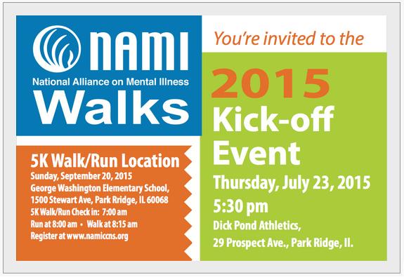 2015 NAMI CCNS Walks and Run July Kickoff Event