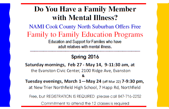 2016 NAMI CCNS Family to Family