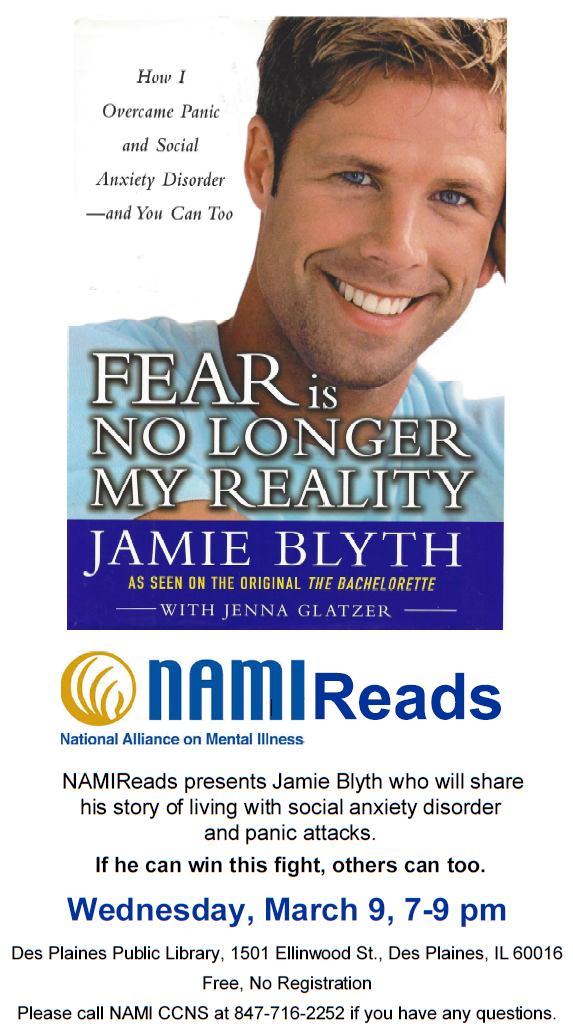 2016 NAMICCNS - Nami Reads - Jamie Blyth with Jenna Glatzer