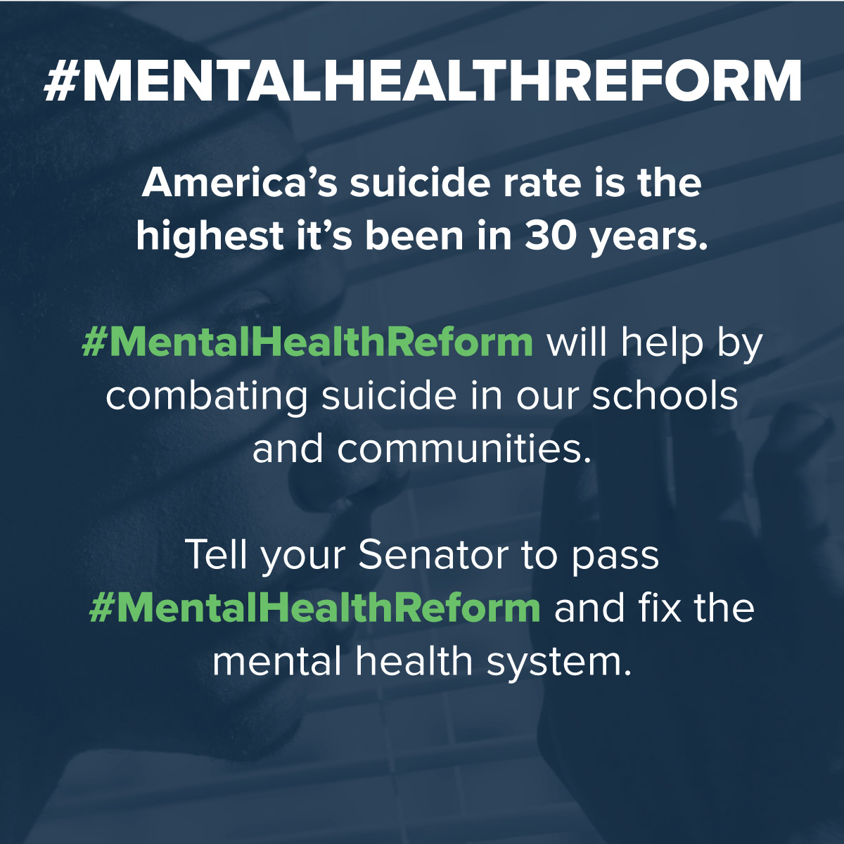 May 15-21 Show You're #StigmaFree & Pass #MentalHealthReform