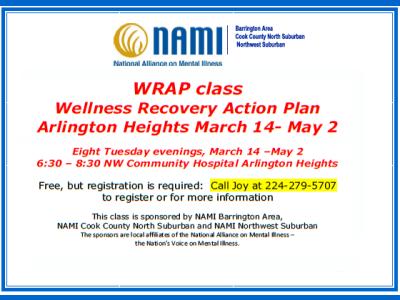 2017 NAMI CCNS Spring WRAP Class
