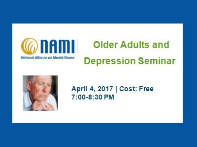 2017 NAMI Older Adults and Depression Seminar