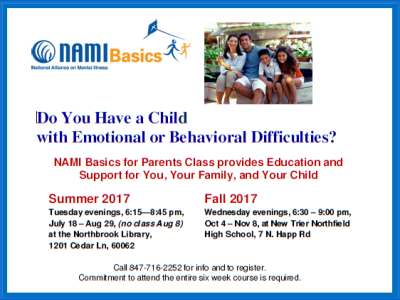 2017 NAMI CCNS Basics - Summer and Fall